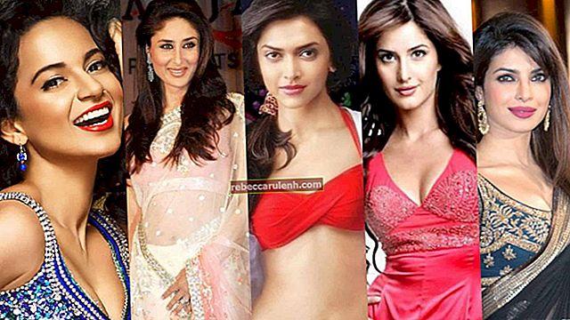 Top 50 des plus grandes actrices de Bollywood