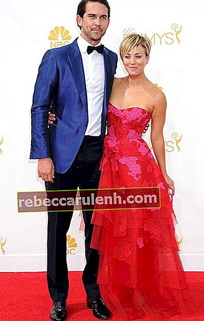 Ryan Sweeting und Kaley Cuoco bei den Emmy Awards 2014.