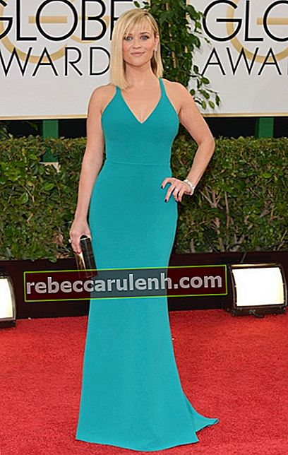 Reese Witherspoon bei den Golden Globe Awards 2014.