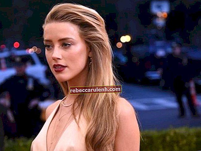 Amber Heard Altezza, Peso, Età, Statistiche corporee