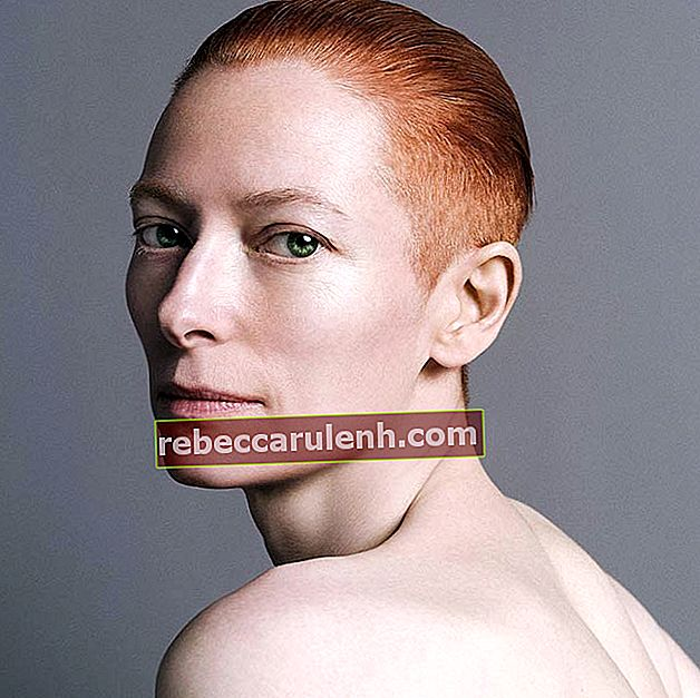 Tilda Swinton in Inez und Vinoodh Fotoshooting im April 2010