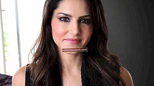 Sunny Leone: altezza, peso, età, statistiche corporee