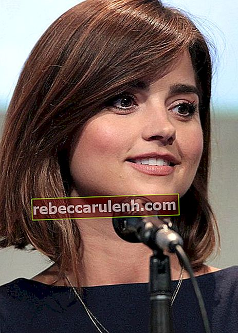 Jenna Coleman auf der San Diego Comic Con International 2015
