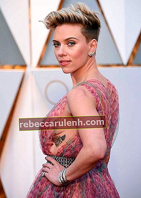 Scarlett Johansson bei den Oscars 2017 in Hollywood