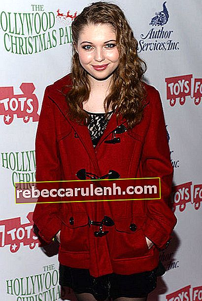 Sammi Hanratty bei der Hollywood Christmas Parade