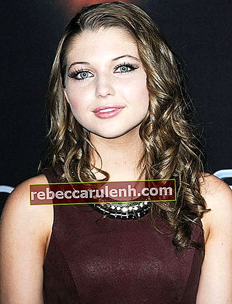 Sammi Hanratty bei Enders Spielpremiere in Los Angeles