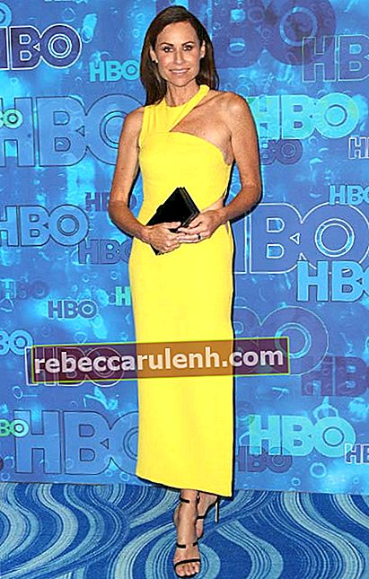 Minnie Driver beim Empfang der HBO Post Emmy Awards im September 2016