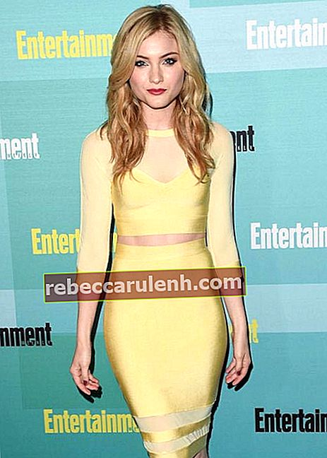 Skyler Samuels auf der Comic-Con 2015 von Entertainment Weekly