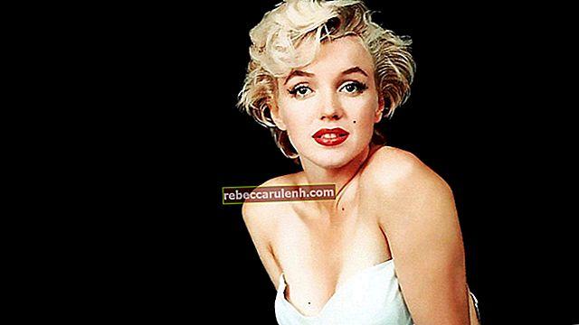 Marilyn Monroe Größe, Gewicht, Alter, Körperstatistik