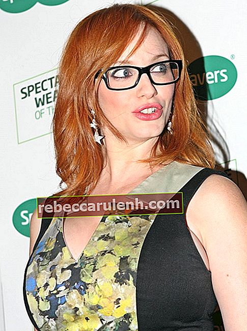 Christina Hendricks Brille