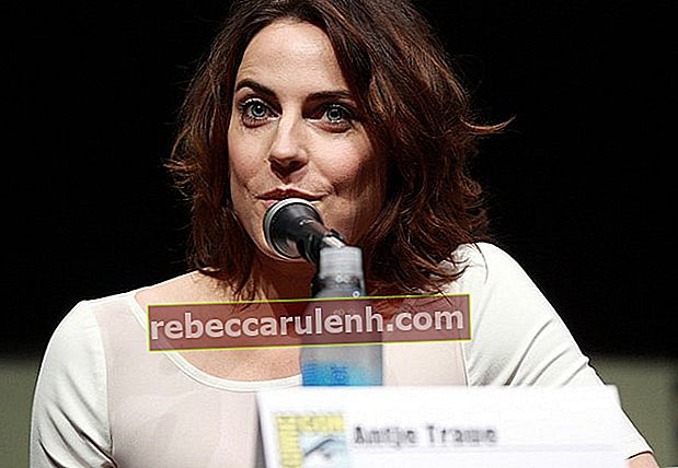 Antje Traue spricht auf der San Diego Comic Con International 2013