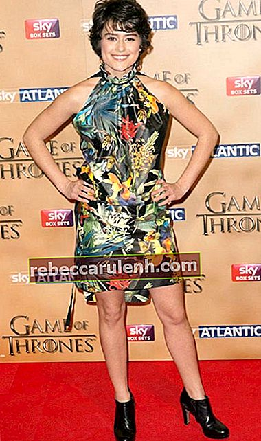 Rosabell Laurenti Sellers bei der Premiere der 5. Staffel von Game of Thrones