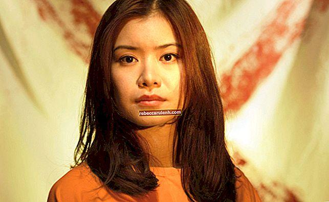 Katie Leung Височина, тегло, възраст, статистика на тялото