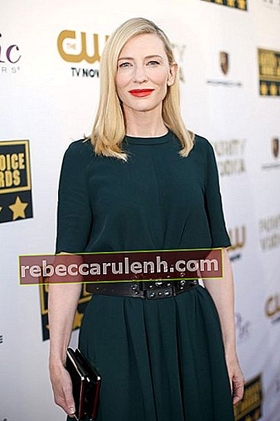 Cate Blanchett während der Critics Choice Awards 2014