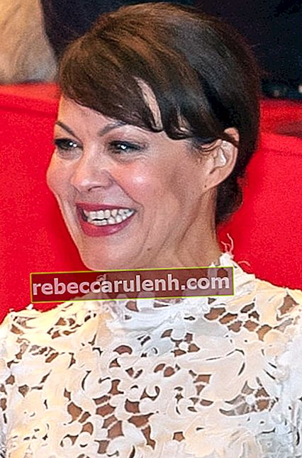 Helen McCrory bei der Premiere des Films 'Queen Of The Desert' im Februar 2015