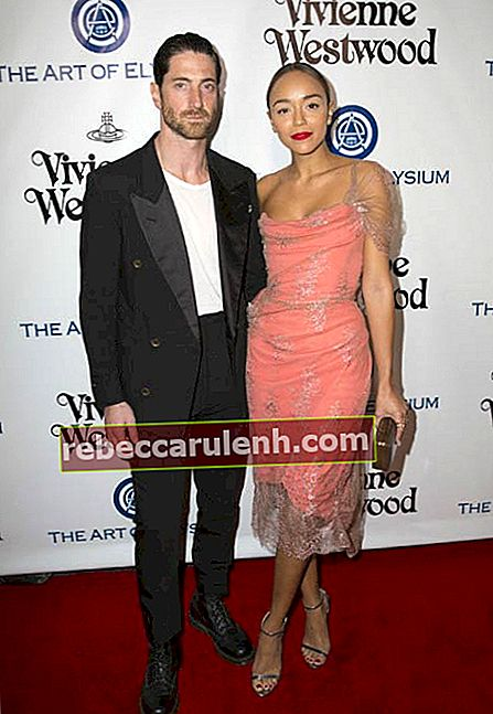 Ashley Madekwe und Iddo Goldberg bei der HEAVEN Gala 2016 von The Art of Elysium im Januar 2016