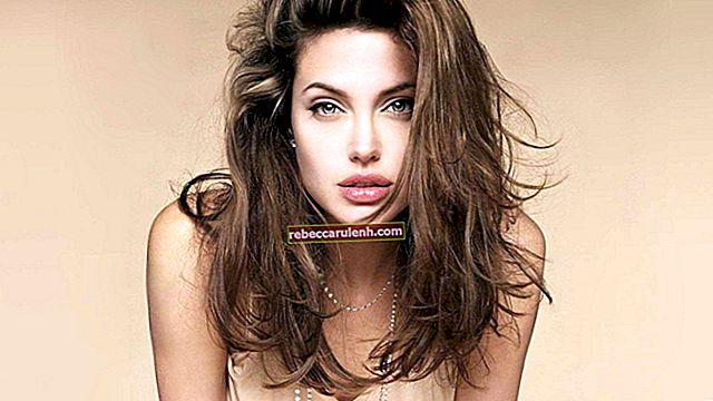 Angelina Jolie: altezza, peso, età, statistiche corporee
