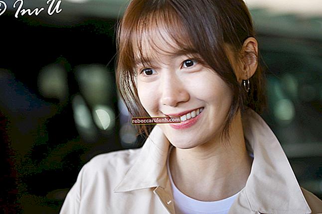 Yoona (Im Yoon-ah) Altezza, peso, età, statistiche corporee