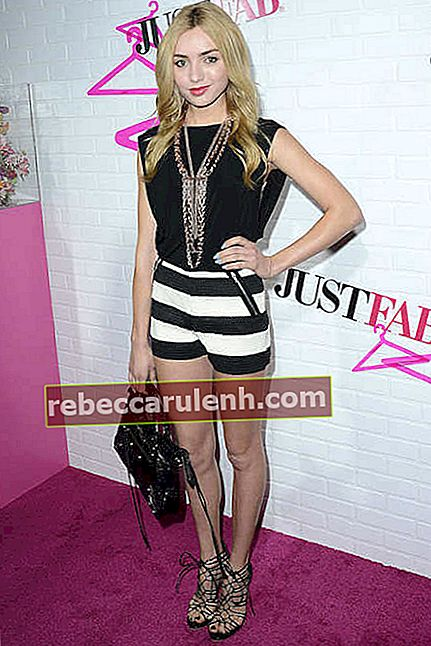 Peyton Roi List während der Ready To Wear Launch Party von JustFab im April 2015