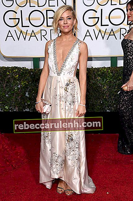 Sienna Miller bei den Golden Globe Awards 2015