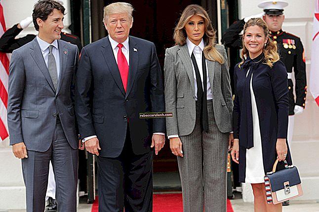 Melania Trump Größe, Gewicht, Alter, Körperstatistik