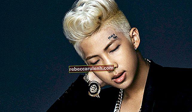 RM (Rapper) Größe, Gewicht, Alter, Körperstatistik