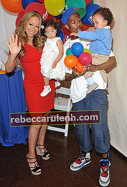 Mariah Carey, Nick Cannon und Twins