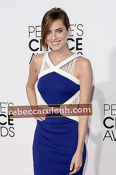 Allison Williams während der People's Choice Awards 2014