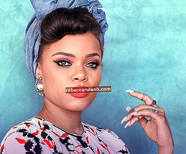 Andra (Singer) Taille, poids, âge, statistiques corporelles