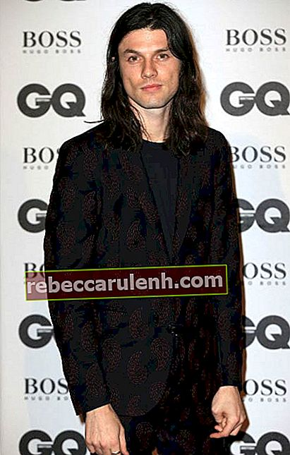 James Bay bei den GQ Men Of The Year Awards im September 2016