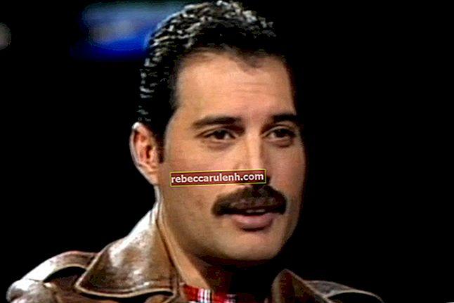 Freddie Mercury Wzrost, waga, wiek, statystyki ciała
