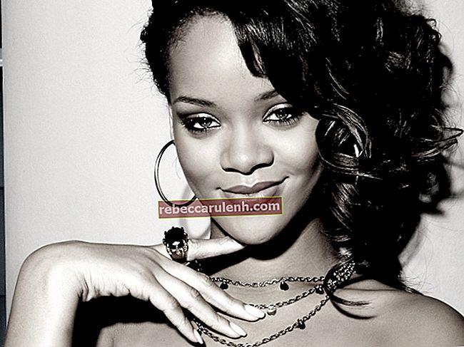 Rihanna Wzrost, waga, wiek, statystyki ciała
