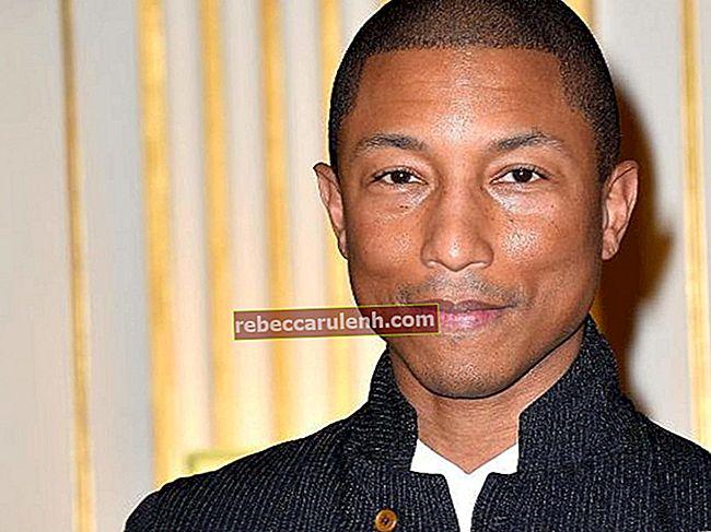 Pharrell Williams Височина, тегло, възраст, статистика на тялото