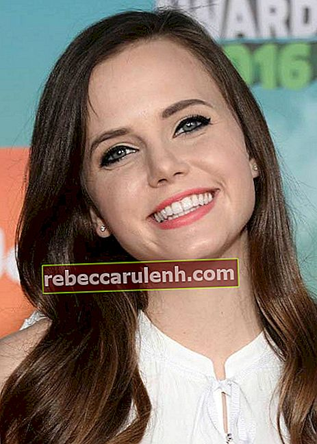 Tiffany Alvord aux Nickelodeon's Kids 'Choice Awards en mars 2016