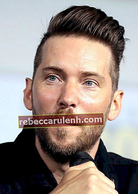Troy Baker spricht auf der San Diego Comic Con International 2019 für Marvel Games im San Diego Convention Center in San Diego, Kalifornien