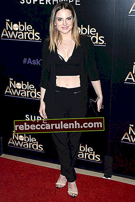 JoJo Levesque bei den Noble Awards 2015