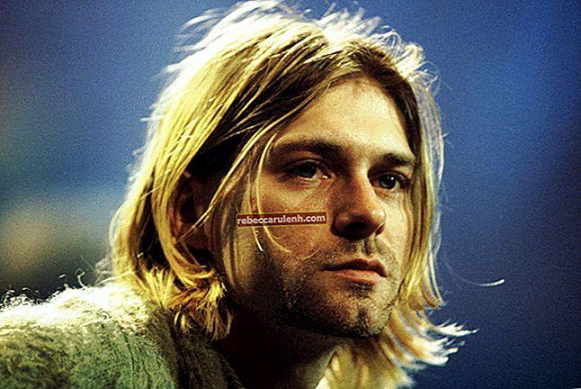 Kurt Cobain: altezza, peso, età, statistiche corporee