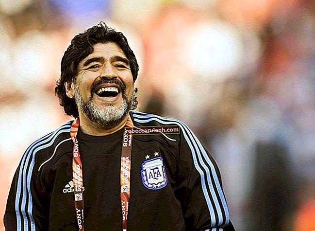 Diego Maradona Altezza, Peso, Età, Statistiche corporee