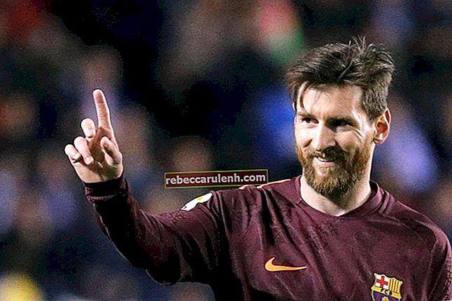Lionel Messi Altezza, Peso, Età, Statistiche corporee