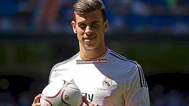Gareth Bale: altezza, peso, età, statistiche corporee