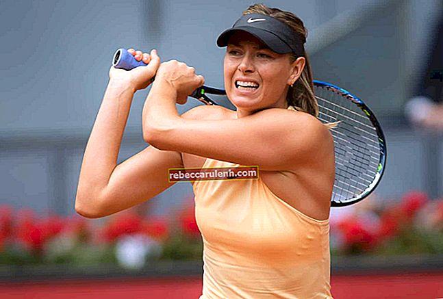 Maria Sharapova Altezza, peso, età, statistiche corporee