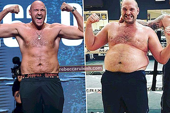 Tyson Fury: altezza, peso, età, statistiche corporee