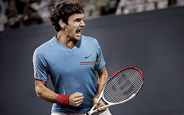 Roger Federer: altezza, peso, età, statistiche corporee