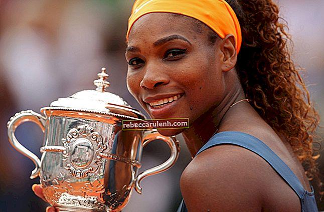 Serena Williams Altezza, Peso, Età, Statistiche corporee
