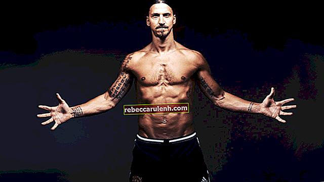 Zlatan Ibrahimovic: altezza, peso, età, statistiche corporee