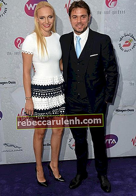 Stan Wawrinka und Donna Vekic auf der WTA Pre Wimbledon Party in London 2016