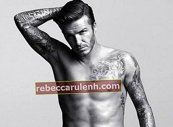 David Beckham Körper Tattoo