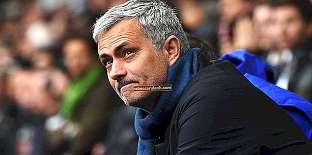 José Mourinho Altezza, peso, età, statistiche corporee