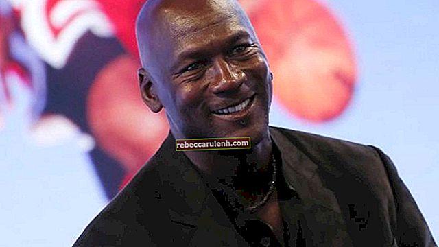 Michael Jordan: altezza, peso, età, statistiche corporee