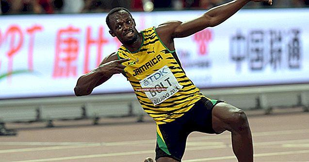 Usain Bolt: altezza, peso, età, statistiche corporee